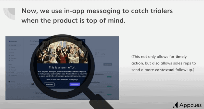 In-app messaging